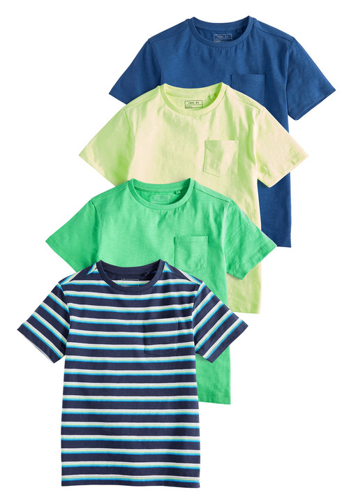 Next Short Sleeve T-Shirts Four Pack (3-16yrs)