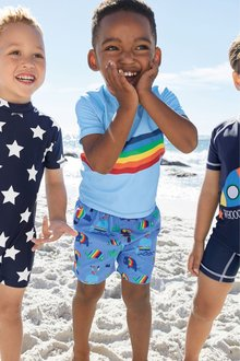 Next Rash Vest And Shorts Set (3mths-7yrs)