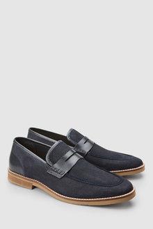 Next Textured Loafer