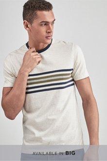 Next Chest Stripe T-Shirt