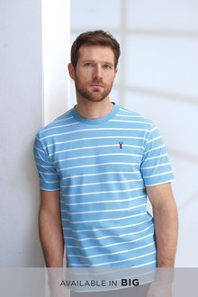 Next Pique Stripe T-Shirt