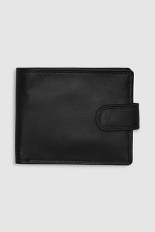 Next Popper Front Leather Wallet