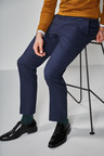 Next Textured Suit: Trousers- Slim Fit