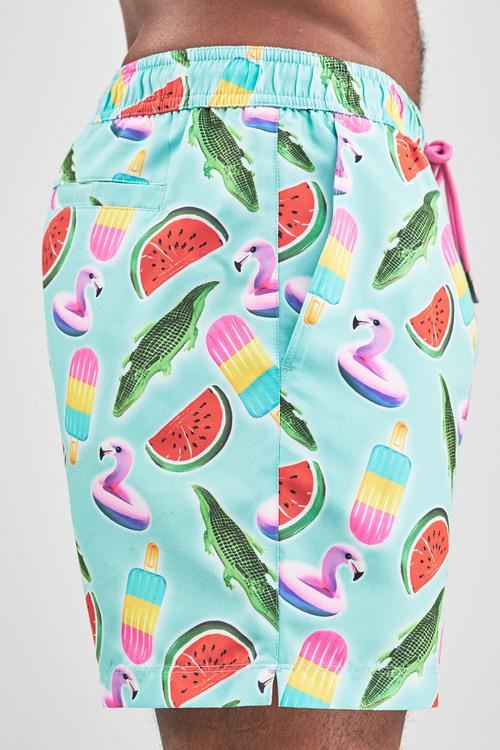 Next Print Swim Shorts