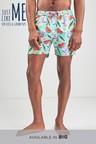 Next Inflatable Print Swim Shorts