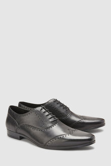 Next Punched Wing Cap Oxford Shoe
