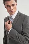 Next Stretch Marl Suit: Jacket- Skinny Fit