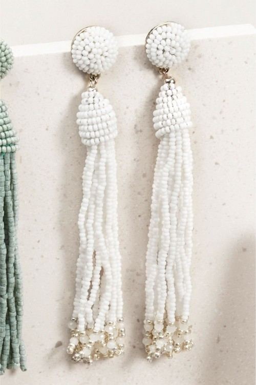 Next Beaded Tassel Earrings