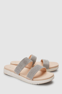 Next Forever Comfort Two Band Sandals