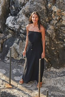 Next Bandeau Maxi Dress-Petite