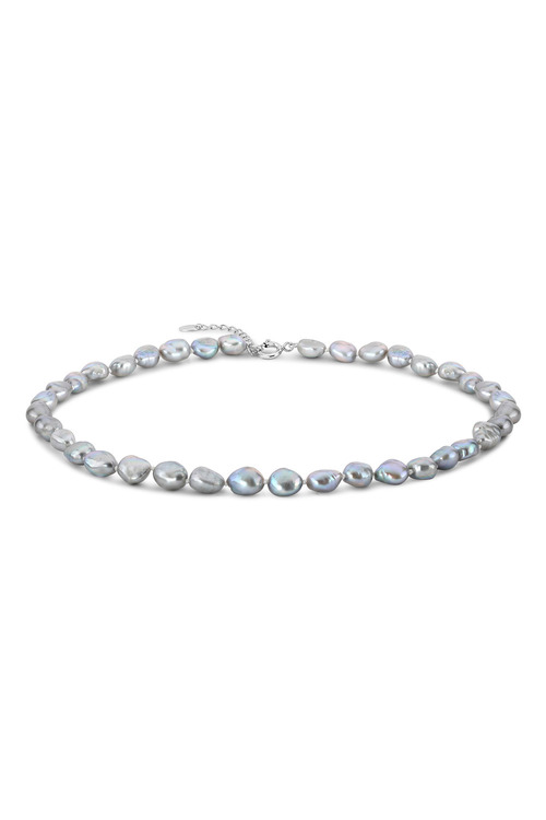 By Fairfax & Roberts Baroque Pearl Short Necklace