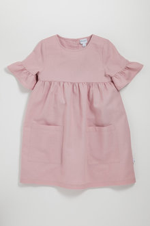 Pumpkin Patch Dress with Frill Sleeves