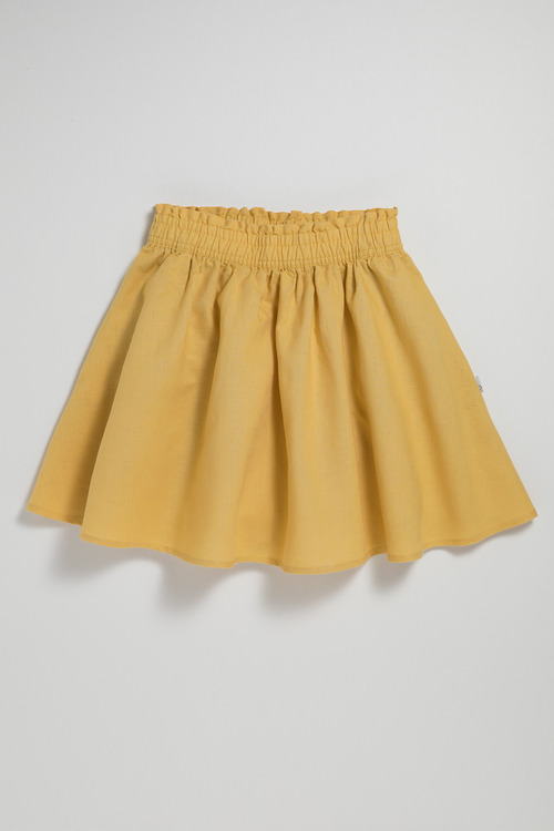 Pumpkin Patch Skirt with Ruffle Waist