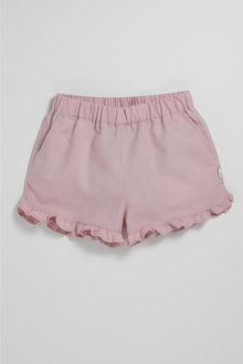 Pumpkin Patch Shorts with Frill Hem
