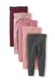 Next 5 Pack Leggings (3mths-7yrs)