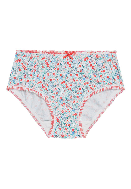 Next 7 Pack Floral Briefs (1.5-12yrs)