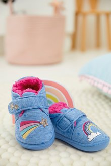 Next Rainbow Slippers (Younger)