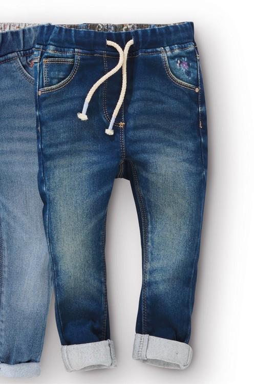 Next Pull-On Slim Leg Jeans (3mths-7yrs)