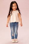 Next Butterfly Detail Pull-On Jeans (3mths-7yrs)