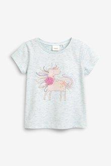 Next Sparkly Unicorn T-Shirt (3mths-7yrs)