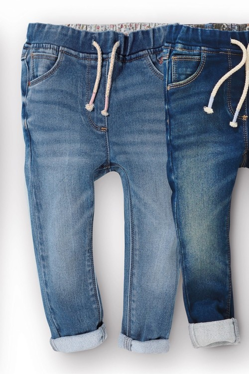 Next Pull-On Slim Leg Jeans (3mths-7yrs)