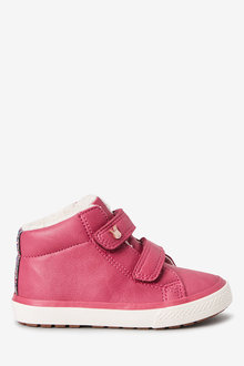 Next Touch Fastening High Top Trainers (Younger)