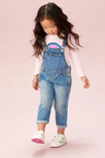 Next Frill Detail Dungarees (3mths-7yrs)