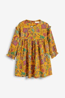 Next Floral Frill Sleeve Dress (3mths-7yrs)