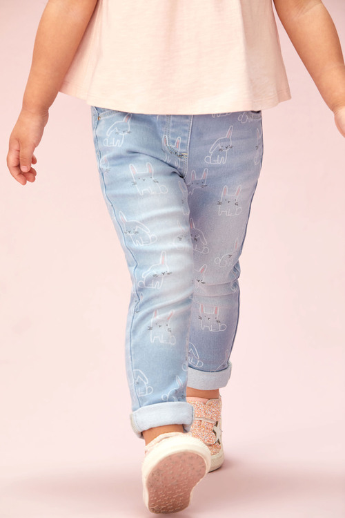Next Bunny Character Pull-On Jeans (3mths-7yrs)