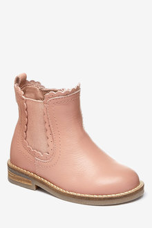 Next Chelsea Scallop Boots (Younger) - 237344