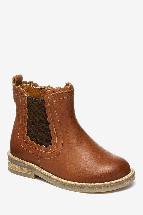 Next Chelsea Scallop Boots (Younger)