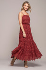 Grace Hill Tiered Broderie Maxi Dress