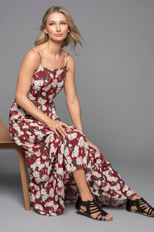 Grace Hill Tiered Maxi Dress