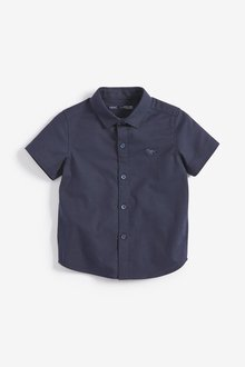 Next Short Sleeve Oxford Shirt (3mths-7yrs)