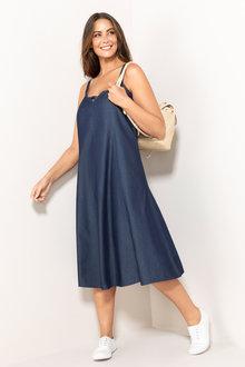 Plus Size - Sara Swing Tank Dress