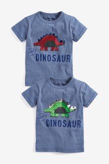 Next Flippy Sequin Dino T-Shirt (9mths-7yrs)