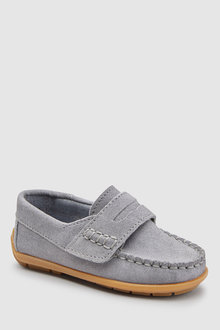 Next Italian Suede Penny Loafers (Younger)