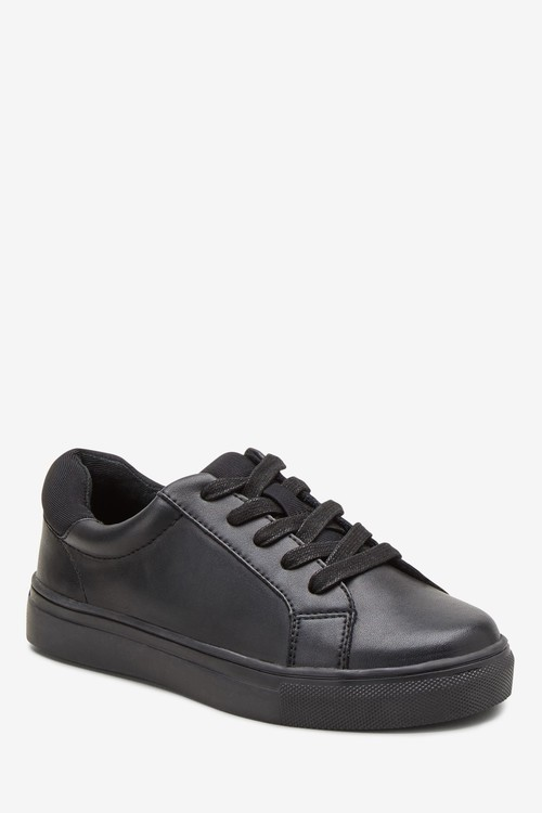 Next Clean Lace-Up Leather Shoes (Older)