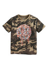 Next Drippy Face Splat Print T-Shirt (3-16yrs)