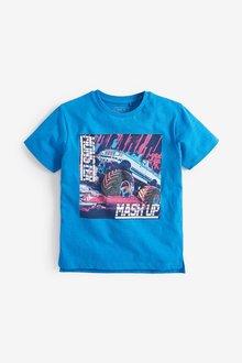 Next Monster Truck Print T-Shirt (3-16yrs)