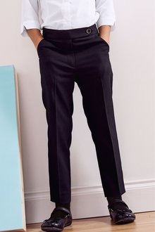Next Plain Front Trousers (3-16yrs)