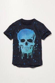 Next Skull Splat T-Shirt (3-16yrs)