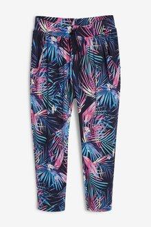 Next Palm Print Jersey Trousers (3-16yrs)