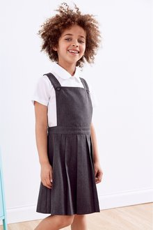 Next Pleated Tabard Pinafore (3-14yrs)