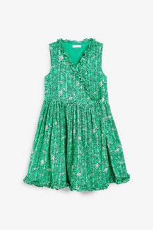 Next Cotton Wrap Dress (3-16yrs)