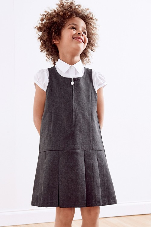Next Zip Front Pinafore (3-14yrs)