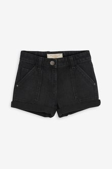 Next Turn-Up Denim Shorts (3-16yrs) - 237514