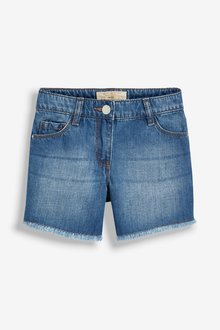 Next Denim Mid Length Shorts (3-16yrs)