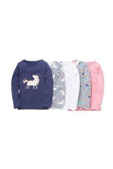Next Long Sleeve T-Shirts Five Pack (3-16yrs)