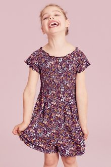 Next Floral Playsuit (3-16yrs)